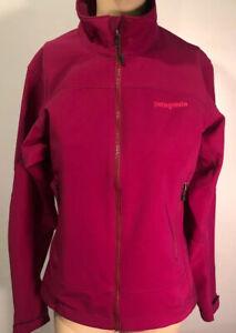 Patagonia Polartec Windblock Jacket Full Zip Long Sleeve Purple/Berry Sz Small