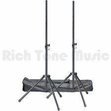 Stagg SPSQ10 Set Speaker Stands with Carry Bag