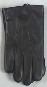 Ralph Lauren Black Leather Thinsulate Touch Gloves NWT $68