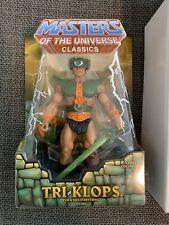 MOTUC Classics He-Man Masters Of The Universe Mattel Matty Tri-Klops Mint