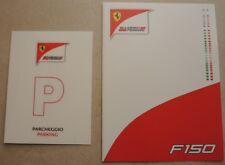 Ferrari F150 Folder Brochure Prospekt Falter 3816/11 Presskit book buch depliant