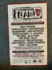 Guinness Fleadh Concert Poster Irish 1998