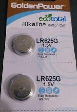 2xGolden Power LR9 625A L1560 PX625 M20 RPX625 EPX625 Alkaline 1.5V FREE SHIP