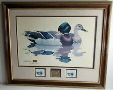 North American Waterfowl Collector's Series Signed Print by Richard Sloan 3