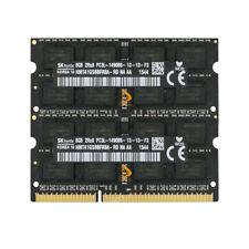 SK Hynix 2x 8GB 2RX8 PC3L-14900S DDR3L 1866MHz SODIMM Memoria RAM Laptop 1.35V%