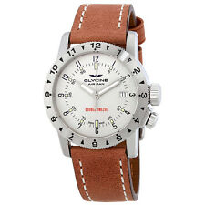 Glycine Airman Double Twelve Automatic Light Beige Dial Mens Watch