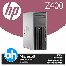 HP Z400 Quad Core INTEL XEON 3.06Ghz CAD Workstation PC 8GB DDR3 RAM Barebones