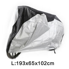 L Bicycle Cover Outdoor Waterproof Bike Cycle Rain Dust Protector w/Storage Bag