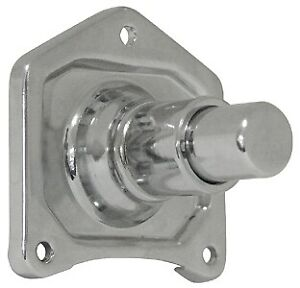 Mid USA 17762 Chrome Solenoid Cover Push Button Starter Harley Big Twin '91-'17