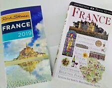 2 FRANCE Travel Books - Rick Steves 2019 & France Eyewitness Travel Guide by DK