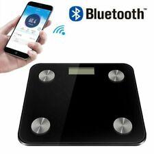 Heartline Bathroom Weighing Scales Smart Body Fat BMI Digital Bluetooth Weight