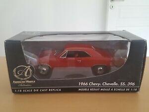 1966 Chevy Chevelle Ertl 1/18 Authentics