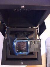 Ritmo Mundo Men'S 501/7 Blue Puzzle Slide Case Automatic Watch