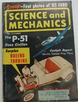 Science & Mechanics Magazine The P-51 Goes Civilian October 1962 050515R