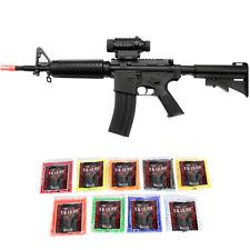 Well D92 M4A1 Airsoft Gun Black Electric Rifle Tactical Metal Barrel AEG + BBs