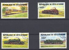 Ivory Coast 1984 Locomotives SG 812-5 Fine used (CTO)