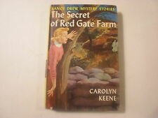 Nancy Drew #6, Secret at Red Gate Farm, Early Picture Cover