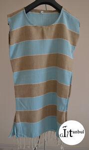 Turkish Peshtemal Cotton Dress Towel, Swimming, Spas, Beaches