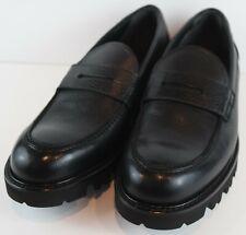 Vince Men's Comrade Leather Loafers Black MSRP $325 Size EU 42.5 US 9 M