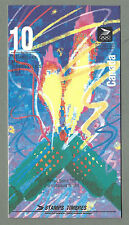 CANADA 1992 Folding Booklet #373 - WINTER OLYMPICS - (10 @42c) - Complete MNH