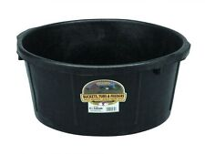Little Giant All Purpose Rubber Tub Crack Freeze & Rust Proof 6.5 Gallon
