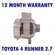 Toyota 4 Runner 2.7 1995 1996 1997 1998 1999-2002 Alternador Garantía de 12