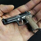 2021 BERETTA 92F 9 METAL KEYCHAIN TATICAL PISTOL GUN - Moving Slide & Magazine