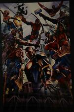Avengers Signed Greg Horn Print