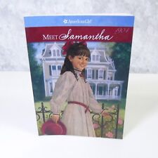 NEW American Girl Of The Year Doll MEET SAMANTHA BOOK Paperback Story Nellie
