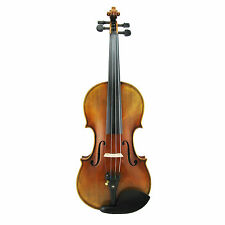 Left Handed Strad Standard Violin 4/4 All Handmade Varnished  #  Custom Order #