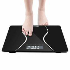 Smart Digital Body Weight Bathroom Scale with Through Display 400 lbs Capacity