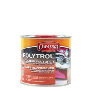 (32,96€/ L) Owatrol Polytrol 0,5L Farb-Auffrischer Kunststoff & Metall
