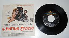 103 - 45 GIRI  IL DOTTOR ZIVAGO COLONNA SONORA ORIGINALE MAURICE JARRE   2/17