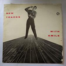 """NPL 18049 Emile Ford : New Tracks with Emile 12"""" Vinyl LP VG+/G"""