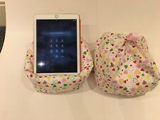 Hearts IPad Pro tablet cushion Beanbag stand holder for tablets kindle books