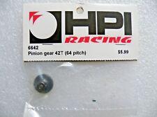 HPI 6642 Pinion Gear 64DP 42 Tooth / Yokomo Associated Sakura Tamiya RS4 Sprint