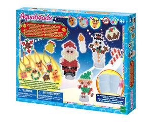 Sale! Aquabeads Advent Calendar Makes 7 Christmas Ornaments Craft Kids Ages 4+