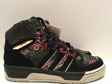 ADIDAS ORIGINALS x BIG SEAN ATTITUDE HI FLORAL HAWAIIAN SNAKE BLACK S84844 sz 8