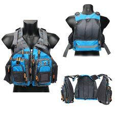 Fishing Safety Life Jacket Fly Fishing Vest Breath Polyester Mesh Fishing Vest