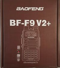 Baofeng BF-F9 V2+ Radio w/ Battery Charger Antennae Earpiece - Red
