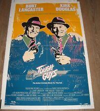 1986 TOUGH GUYS 1 SHEET MOVIE POSTER BURT LANCASTER KIRK DOUGLAS NICE ART