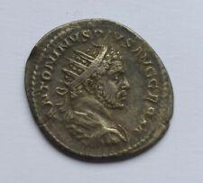ANCIENT ROMAN SILVER ANTONINIANUS EMPEROR CARACALLA /198-217 AD/