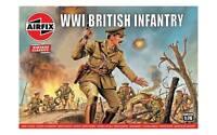 AIRFIX 727V 1/76 WWI British Infantry 48 Plastic Toy Soldiers NEW MIB FREE SHIP