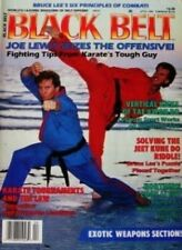 4/89 BLACK BELT MAGAZINE JOE LEWIS JEET KUNE DO KARATE KUNG FU MARTIAL ARTS