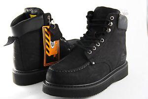 Men Work Boot Cobra C11M Black Genuine Leather Goodyear Welt Construction New