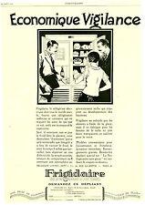 Publicité ancienne frigidaire 1927 issue de magazine