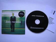 James - Tomorrow, **4 TRACK**, PROMO COPY DJ CD