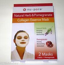 Collagen Essence Mask 1 Herb Mask & 1 Pomegranate Mask