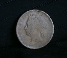 1 Cent 1874 Straits Settlements World Coin KM9 Malaysia Queen Victoria Malay