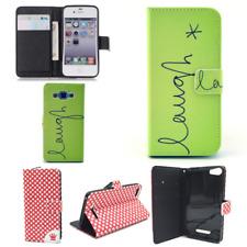 Design Schutz Tasche Handy Hülle Wallet Bumper Book Style Motiv Schale Rahmen